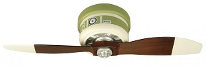 Craftmade One Light Wood Hugger Ceiling Fan - WB242SC2