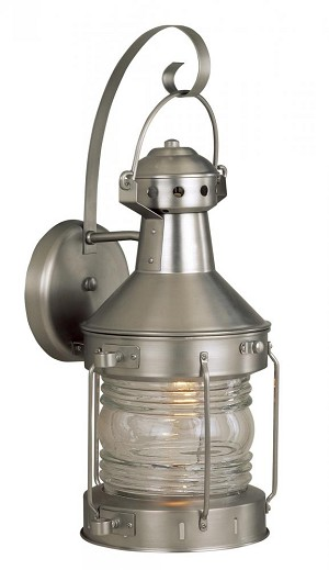 Craftmade One Light Nickel Wall Lantern - Z114-28