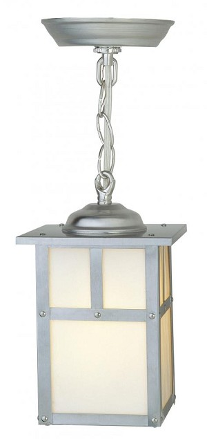 Craftmade One Light Nickel Hanging Lantern - Z1841-56