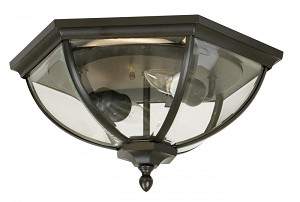 Craftmade Two Light Bronze Outdoor Flush Mount - Z3017-92