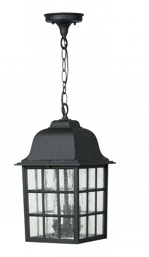 Craftmade Three Light Black Hanging Lantern - Z571-05
