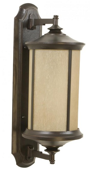 Craftmade Oiled Bronze Gilded Wall Lantern - Z6510-88