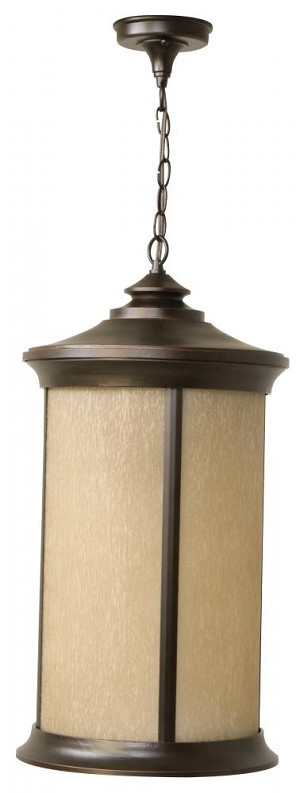 Craftmade Oiled Bronze Gilded Hanging Lantern - Z6521-88