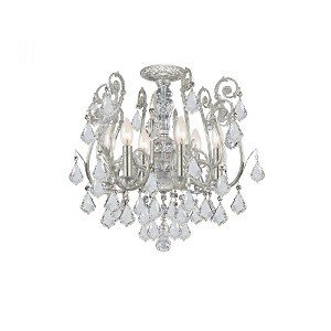 Crystorama Semi Flush Mount - 5115-OS-CL-S