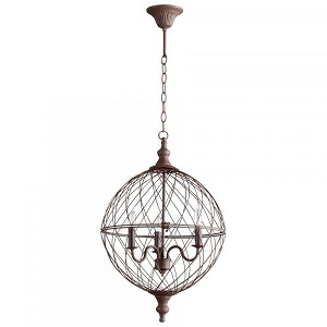 Cyan Designs Three Light Rustic Down Pendant - 05314