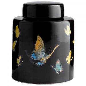 Cyan Designs Lg Painted Lady Container - 06019