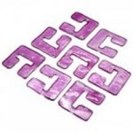 Cyan Designs Glass Lnks 04981-purple - 05122
