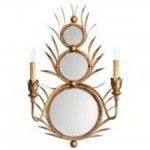 Cyan Designs Two Light Gold Wall Light - 05283