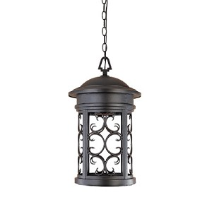 Designers Fountain One Light Oil Rubbed Bronze Hanging Lantern - 31134-ORB