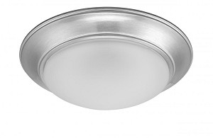 Designers Fountain LED Satin Platinum Frosted Glass Bowl Flush Mount - LED202-SP-FR