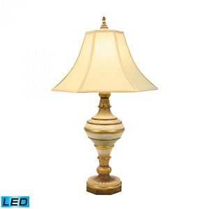 Dimond One Light Brown Table Lamp - 93-482-LED