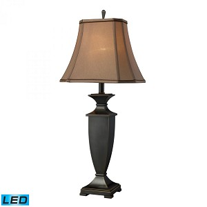 Dimond One Light Oil Rubbed Bronze Table Lamp - D1861-LED