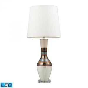 Dimond One Light New Bali Table Lamp - D2258-LED