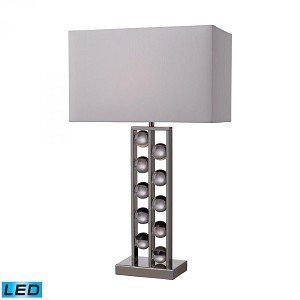 Dimond One Light Nickel Table Lamp - D2324-LED