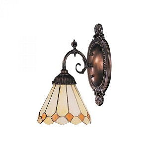 ELK Lighting One Light Tiffany Bronze Wall Light - 071-TB-05