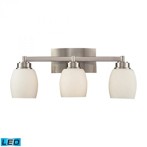 ELK Lighting Three Light Satin Nickel Vanity - 17102/3-LED