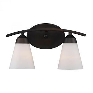 ELK Lighting Two Light Aged Bronze Vanity - 67017-2