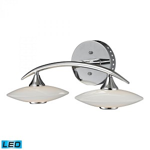 ELK Lighting Two Light Chrome Vanity - 81001/2