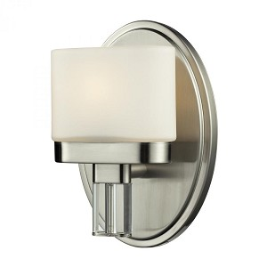 ELK Lighting One Light Satin Nickel Bathroom Sconce - 84090/1