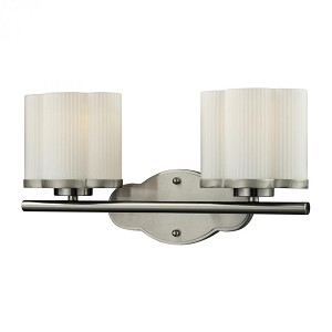 ELK Lighting Two Light Satin Nickel Vanity - 84096/2