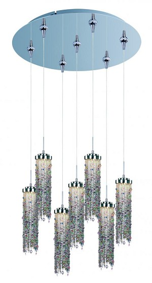 ET2 Bianca 7-Light LED RapidJack Pendant and Canopy - E95190-148PC