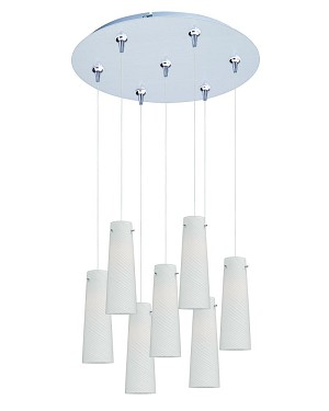 ET2 Minx 7-Light RapidJack Pendant and Canopy - E93739-112SN