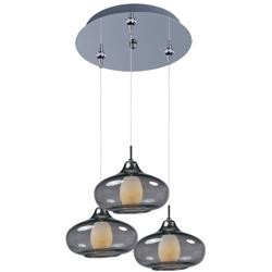 ET2 Minx 3-Light RapidJack Pendant and Canopy - E94648-142PC