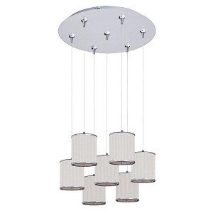 ET2 Elements 7-Light RapidJack Pendant and Canopy - E95501-102SN