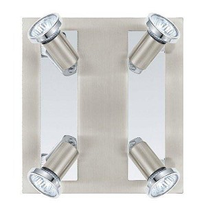 Eglo Four Light Nickel Track Kit - 200093A