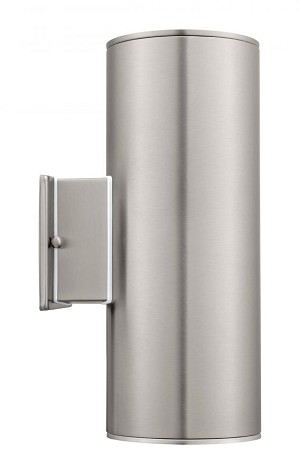 Eglo Two Light Steel Outdoor Wall Light - 90121A