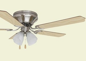 Ellington Fan 52'' Hugger Ceiling Fan - BRC52BNK5