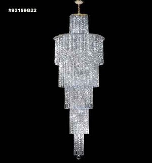 James R Moder Entry Chandelier - 92159G11