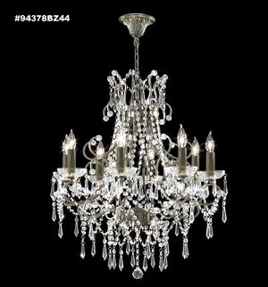 James R Moder Isabella 8-Light Chandelier - 94378BZ44