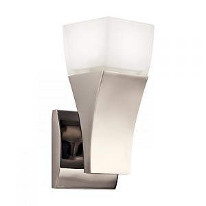 Kichler One Light Polished Nickel Wall Light - 10411PN