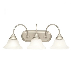 Kichler Three Light Brushed Nickel Vanity - 10609NI