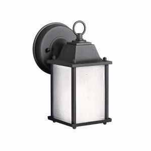 Kichler One Light Black (painted) Wall Lantern - 10923BK