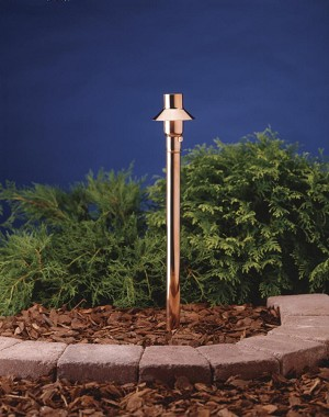 Kichler Landscape One Light Copper Path Light - 15357CO