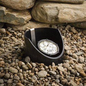 Kichler Landscape Nine Light Textured Black Well Light - 15758BKT