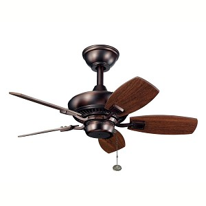 Kichler Oil Brushed Bronze Outdoor Fan - 300103OBB