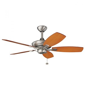 Kichler Brushed Nickel Ceiling Fan - 300107NI