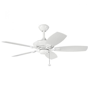 Kichler White Ceiling Fan - 300107WH