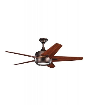 Kichler Burnished Antique Pewter Ceiling Fan - 300137BAP