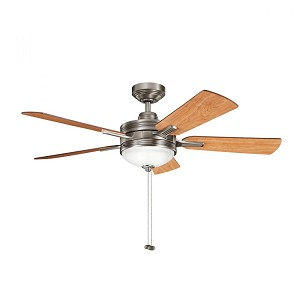 Kichler Three Light Antique Pewter Ceiling Fan - 300148AP