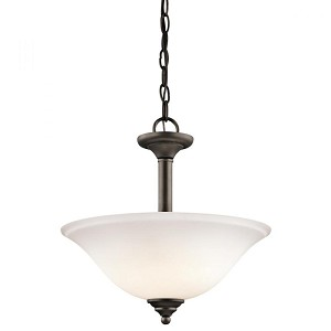 Kichler Two Light Olde Bronze Up Pendant - 3694OZW