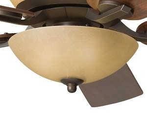Kichler Three Light Olde Bronze Fan Light Kit - 380000OZ