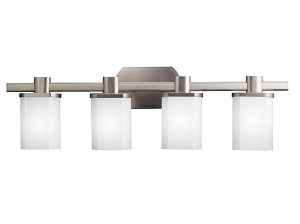 Kichler Four Light Brushed Nickel Vanity - 5054NI
