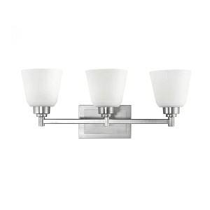 Kichler Three Light Brushed Nickel Vanity - 5150NI