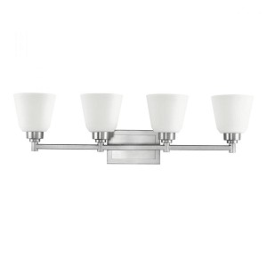 Kichler Four Light Brushed Nickel Vanity - 5151NI