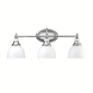Kichler Three Light Chrome Vanity - 5369CH