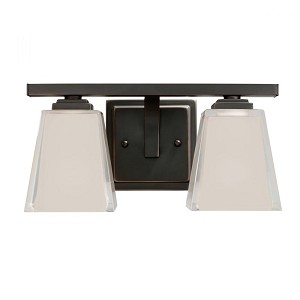 Kichler Two Light Olde Bronze Vanity - 5460OZ
